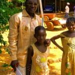 Omar responsable des enfants parrainés