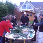 préparation du marche de Noel 2012