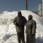 Théo et Marie à la neige