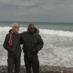 Rémy et Théo à la mer